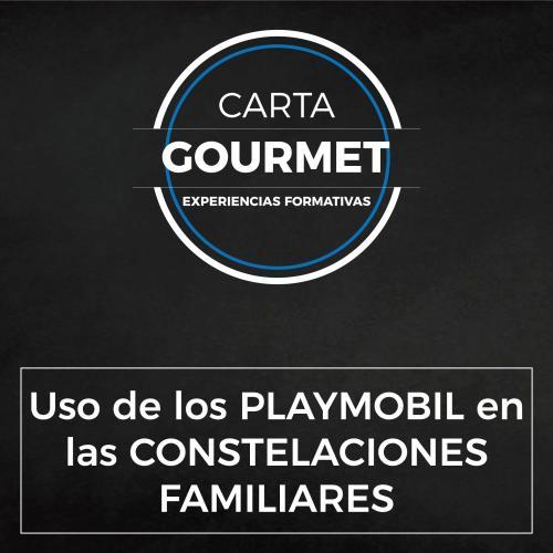 Carta Gourmet - Uso de los PLAYMOBIL en las CONSTELACIONES FAMILIARES