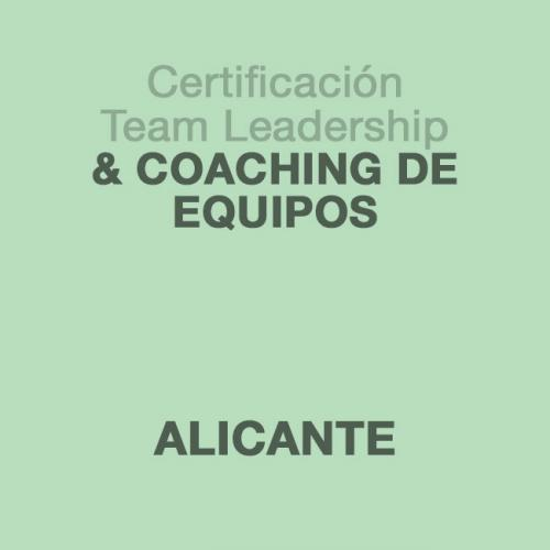 Certificación Team Leadership & Coaching de Equipos en ALICANTE
