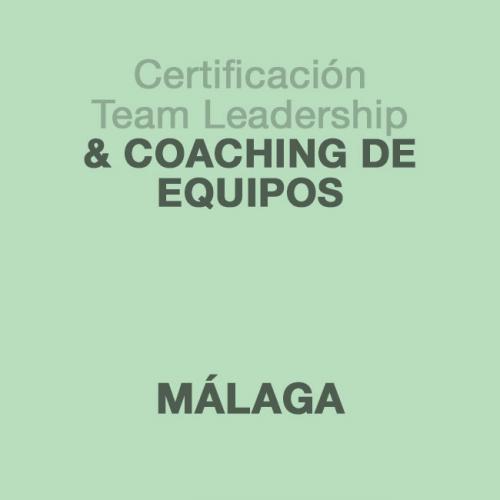 Certificación Team Leadership & Coaching de Equipos en MÁLAGA