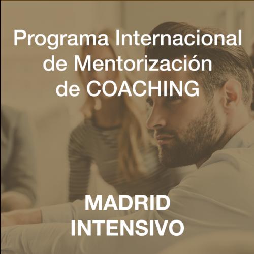 Programa Internacional de Mentorización de Coaching Intensivo