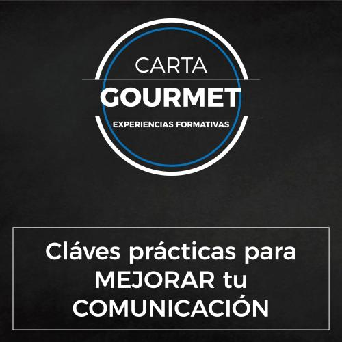 Carta Gourmet - Claves prácticas para mejorar tu Comunicación