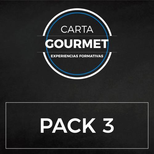 PACK 3 GOURMET